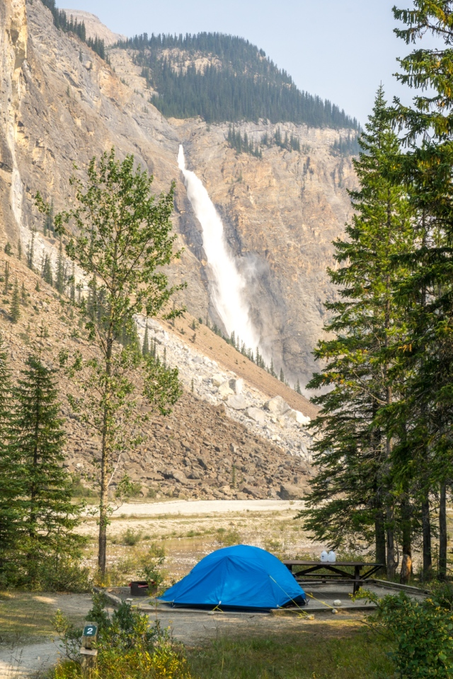 takakkaw falls campground (1 of 1)